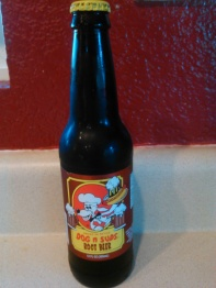 Dog n Suds Root Beer Glass Bottle