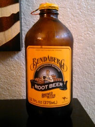 Bundaberg Root Beer Glass Bottle