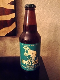 Hippo Size Burley Birch Beer Glass Bottle