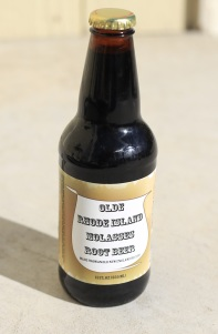 Olde Rhode Island Molasses Root Beer Glass Bottle